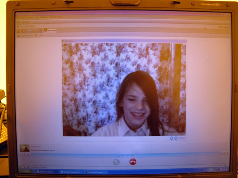 SKYPE with Martina